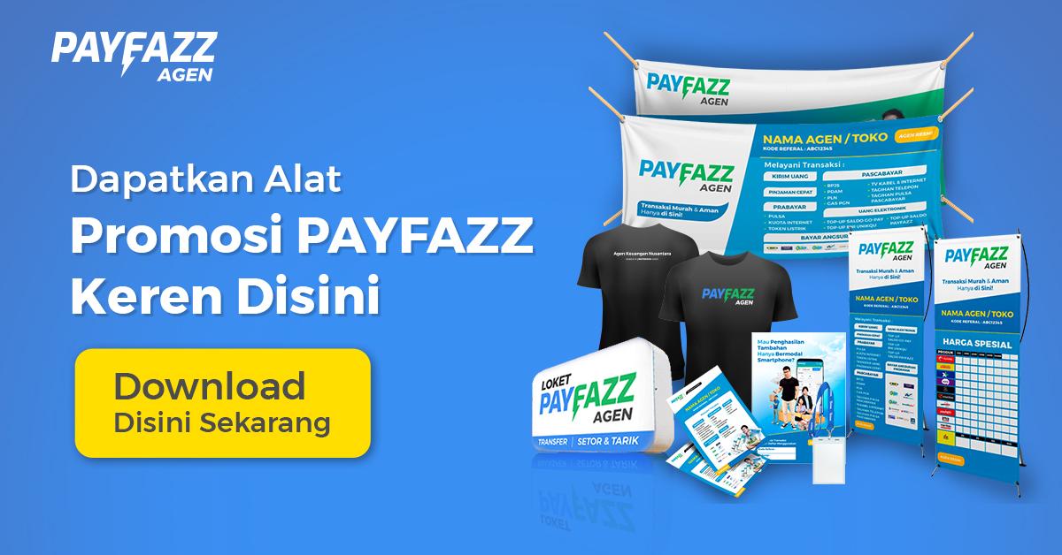 Dapatkan Alat Promosi Secara Mudah Di Aplikasi Payfazz