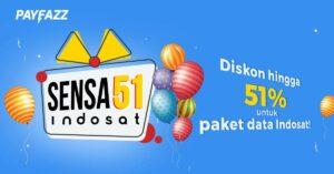 SENSA51 Paket Data Indosat Diskon Hingga 51%!