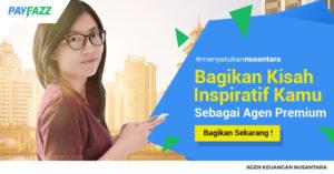 bagikan kisah inspirasi kamu sebagai agen premium