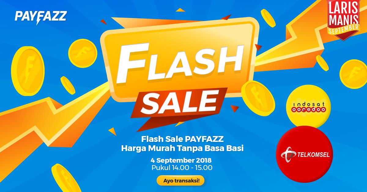 Flash Sale PAYFAZZ di Laris Manis September!