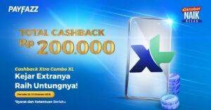 Cashback Extra Combo XL, Kejar Extranya, Raih Untungnya!