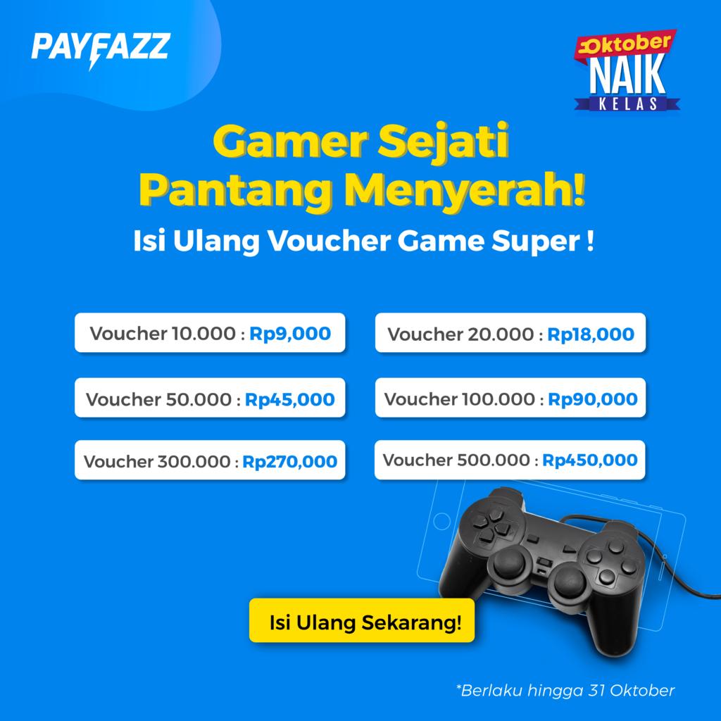 Promo Gajian Voucher Game Murah UniPin!