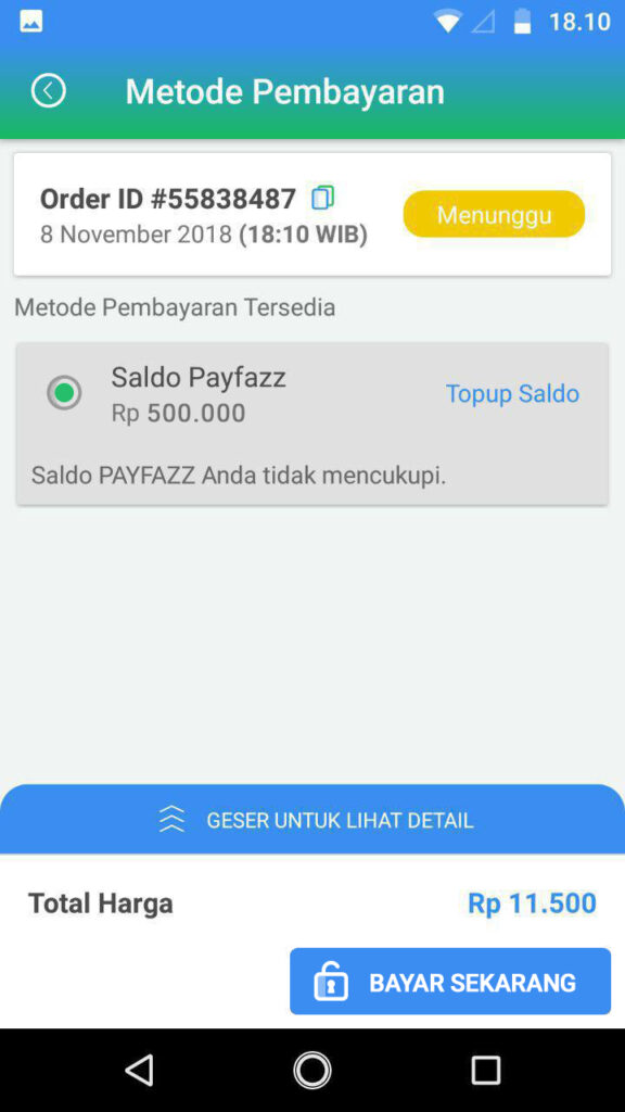 Cara Menggunakan BNI TapCash di aplikasi PAYFAZZ