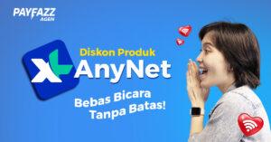 Telepon dan SMS XL AnyNet Termurah di PAYFAZZ!