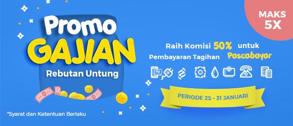 Promo Gajian Rebutan Untung Gak Nanggung - nanggung!