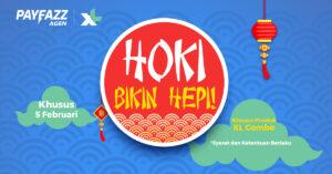 Promo XL Hoki Bikin Hepi untuk Agen PAYFAZZ!
