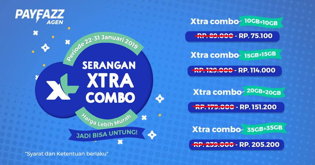 Serangan Xtra Combo, Paket Data XL Turun Harga Jadi Bisa Untung!