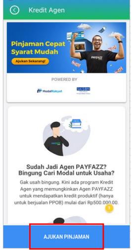 Fitur Kredit Agen - Ajukan Pinjaman