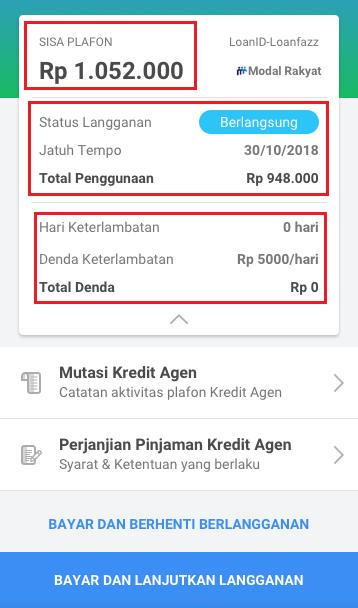Fitur Kredit Agen - Informasi Lengkap Mengenai Kredit