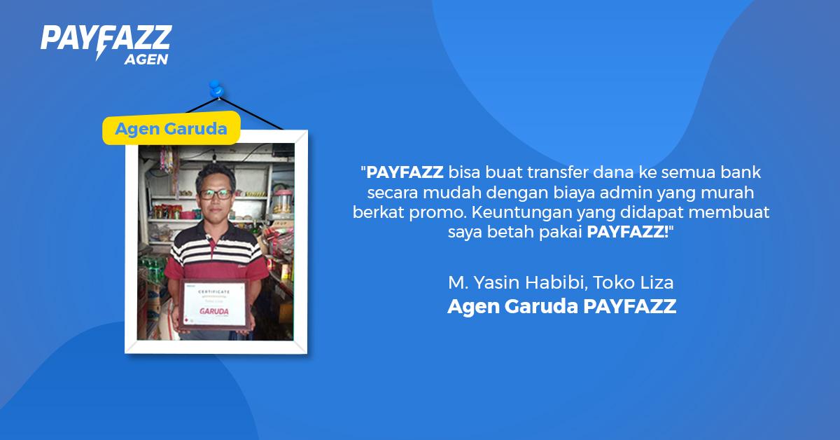 Jadi Agen Garuda PAYFAZZ, Toko Kelontong Pak Yasin Naik Level!