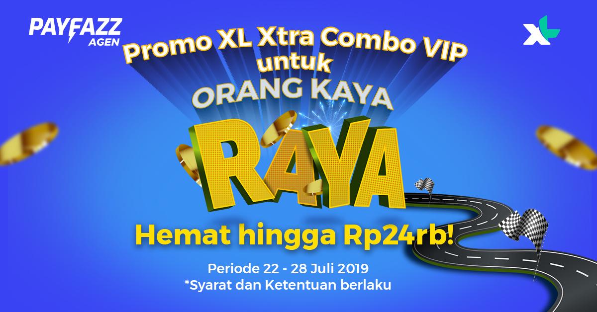Promo Xl Xtra Combo Vip Khusus Orang Kaya Raya Payfazz