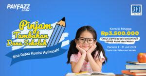 Pinjam Tambahan Dana Sekolah Bisa Dapat Komisi hingga Rp3,5 Juta!
