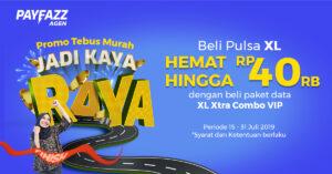 Promo Tebus Murah Jadi Kaya Raya, Beli Pulsa XL HEMAT Hingga Rp40.000!