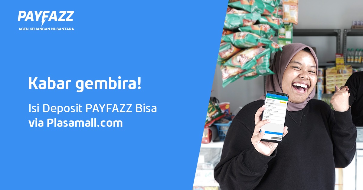 Makin Gampang, Isi Deposit Sudah Bisa via Plasamall.com!