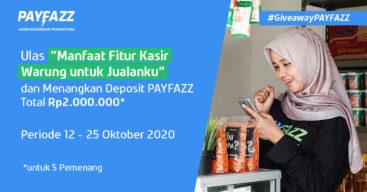 Beri Ulasan Fitur Kasir Warung Berhadiah Deposit PAYFAZZ Total Rp2 Juta!