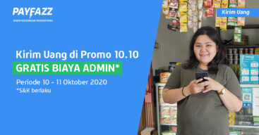 GRATIS BIAYA ADMIN Kirim Uang Cuma di Promo 10.10!