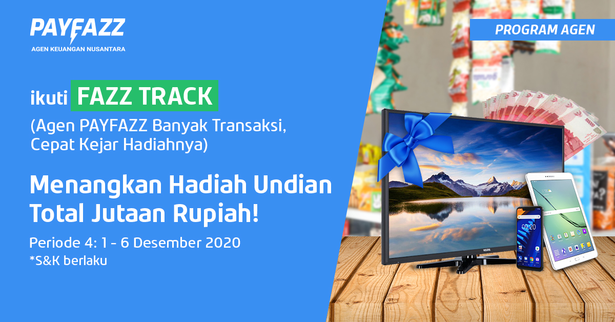 Program FAZZTRACK Periode 4 Kembali dengan Hadiah Undian 2 TV!