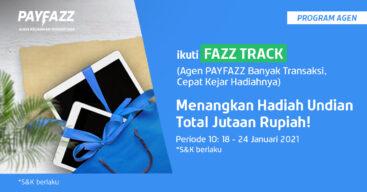 Ikuti FAZZTRACK Periode 10 & Raih Total Hadiah Undian 2 Tablet!
