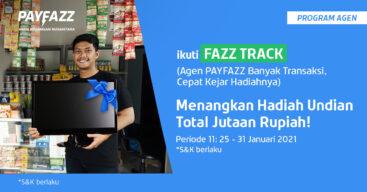 Raih Total Undian 2 TV di FAZZTRACK Periode 11 Sekarang!