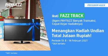 Raih Undian Smart TV Keren di FAZZTRACK Periode 13 Yuk!