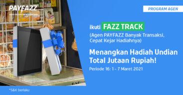 Raih Total Undian 2 Tablet di FAZZTRACK Periode 16 Yuk!
