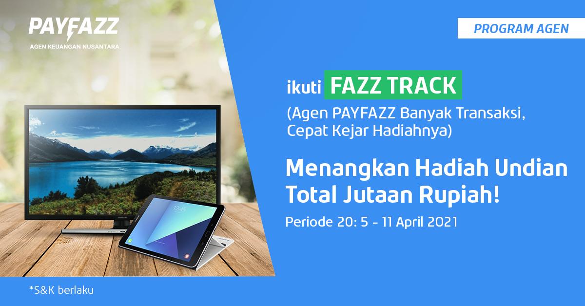 Ada Total Hadiah 2 Tablet dan 2 Smart TV di FAZZTRACK Periode 20: 5 - 11 April 2021
