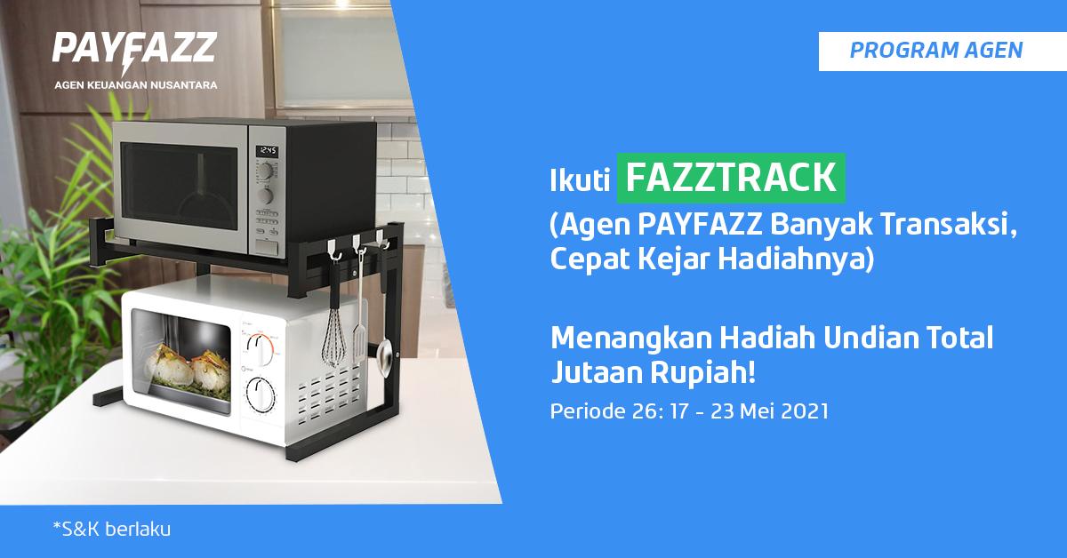 Ada Total Hadiah Undian 2 Oven & 2 Microwave di FAZZTRACK Periode 26