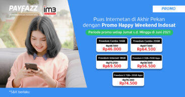 Cek Promo Indosat Freedoom Happy Weekend, Ada Kuota 14GB di Bawah 50RB