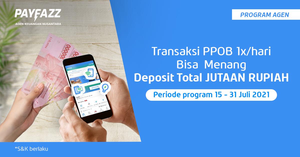 PAYFAZZ Bagi-Bagi Deposit untuk 150+ Agen Beruntung!