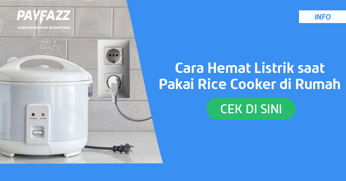 Begini Caranya Memakai Rice Cooker Agar Hemat Listrik