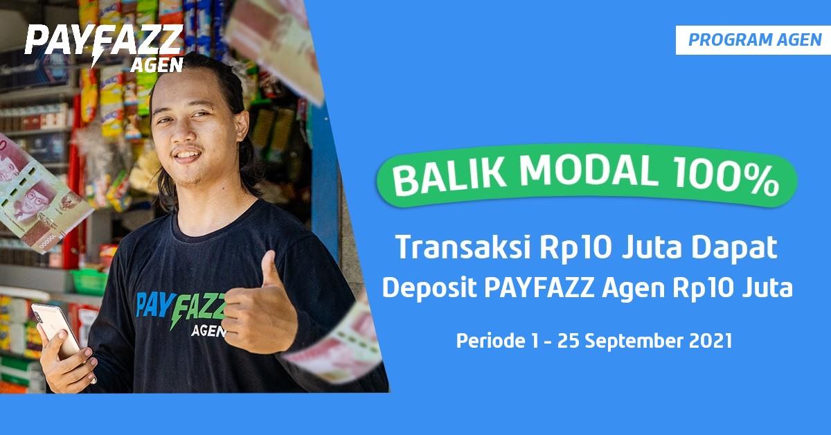 Transaksi Rp10 JT Bisa Balik Modal 100%+Kupon Gratis Biaya Admin PLN Pascabayar