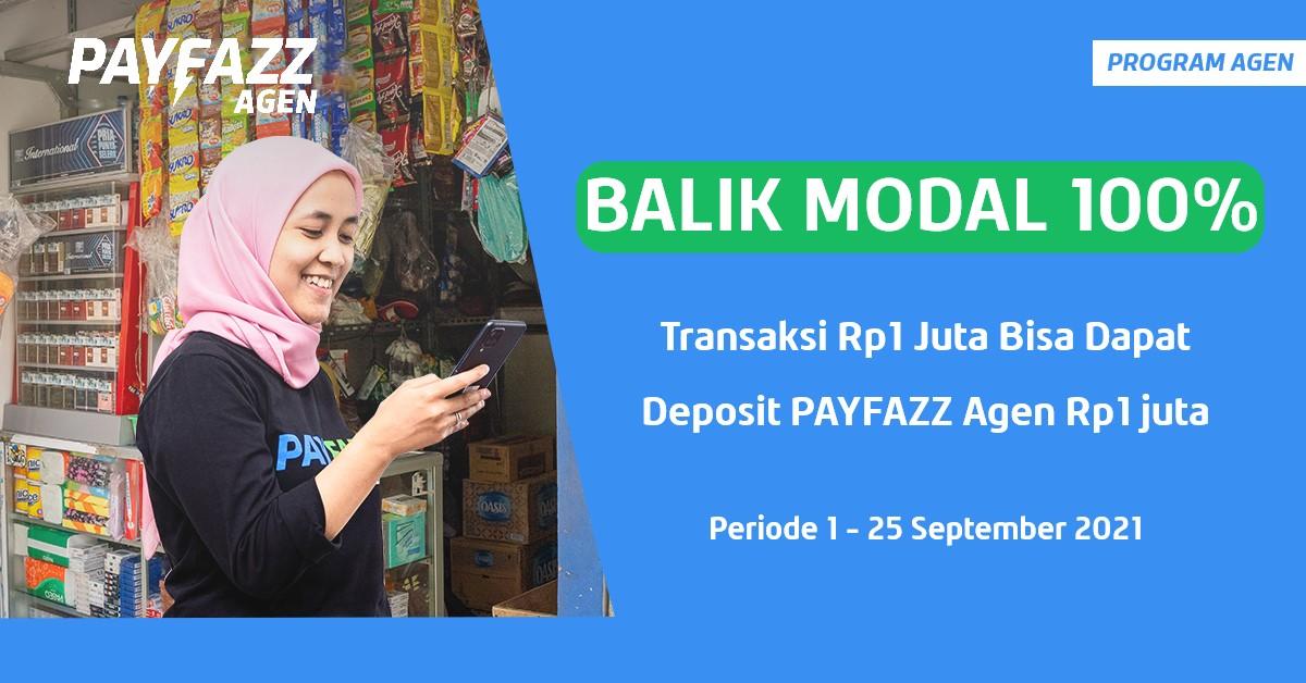 Transaksi Rp1 JT Bisa Balik Modal 100% + Kupon Gratis Biaya Admin PLN Pascabayar