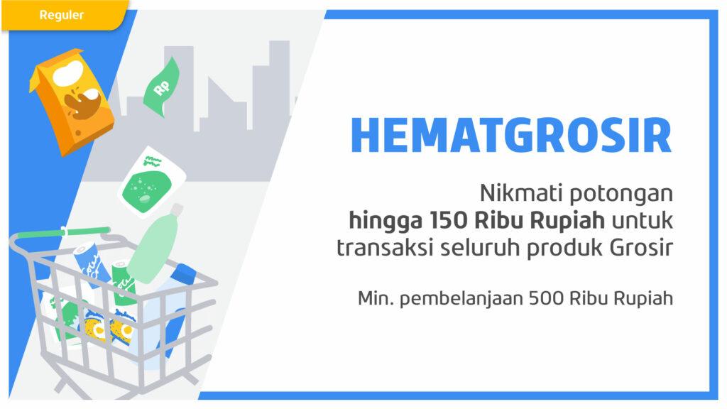 Super HEMAT s.d. 150RB tiap Belanja di PAYFAZZ Grosir!