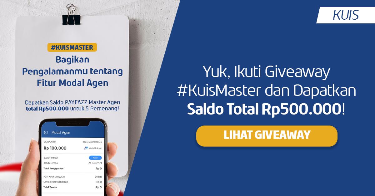 Review Fitur Modal Agen dan Dapatkan Hadiah Saldo PAYFAZZ Master Agen Total Rp500.000!