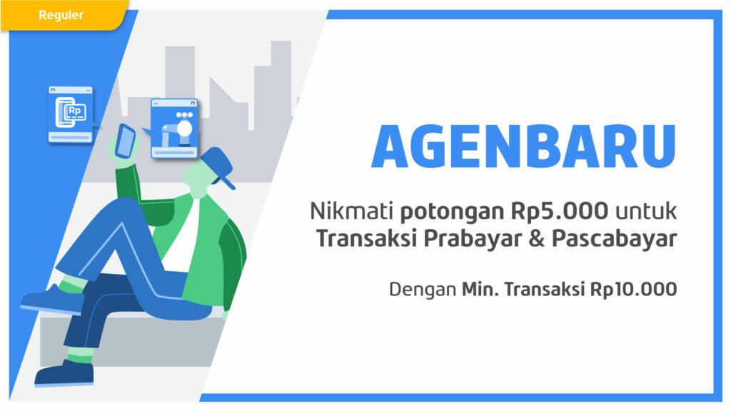 Potongan Rp5.000 untuk Transaksi Pertamamu di September!