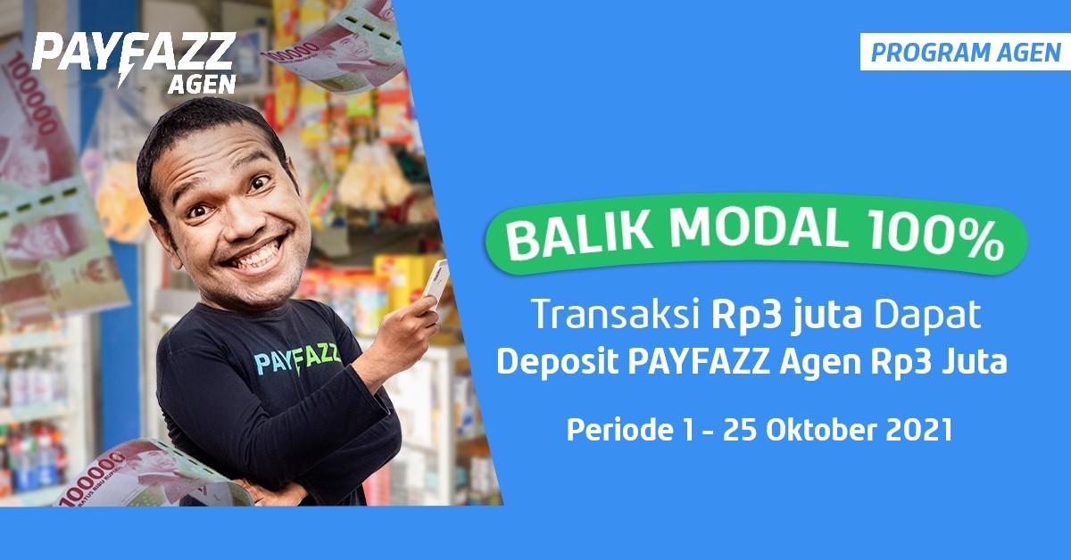 Transaksi Rp3 JT Bisa Balik Modal 100% + Kupon Gratis Biaya Admin PLN