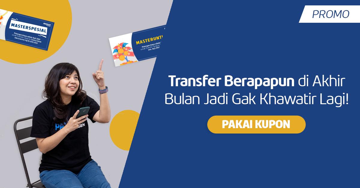 Transfer Uang Makin Hemat di Oktober dengan Kupon MASTERUNTUNG dan MASTERSPESIAL